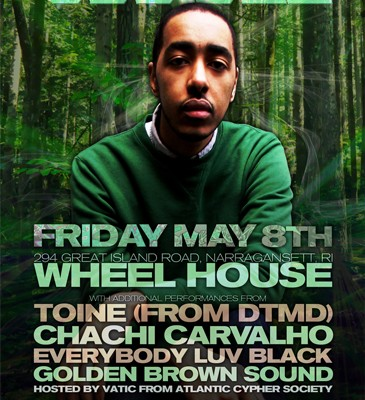 Oddisee @ Wheel House - Friday 5/8/15